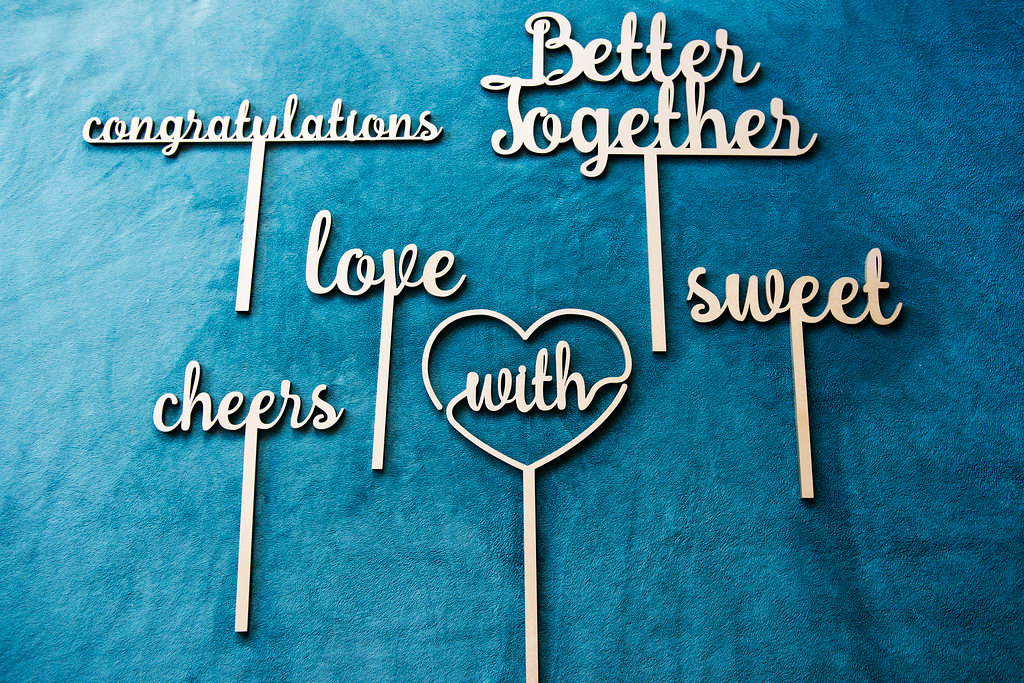 Wedding Photography Props: Laser Cut Photo Booth Props For The Wedding Industry