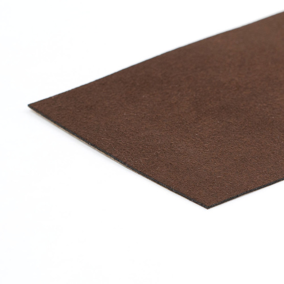 ultrasuede coffee bean for laser cutting