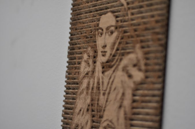 cardboard-laser-cut-lady-in-fur