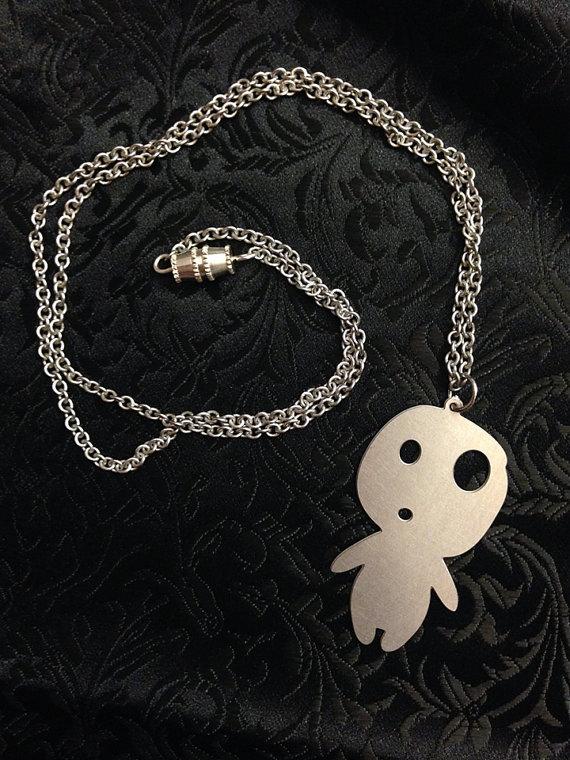 Laser Cut Kodama Necklace