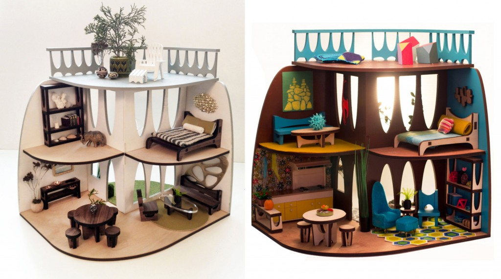 laser cut 4girls dollhouse 3starstudioarts