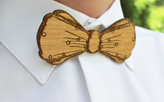 laser-cut-wood-bow-tie