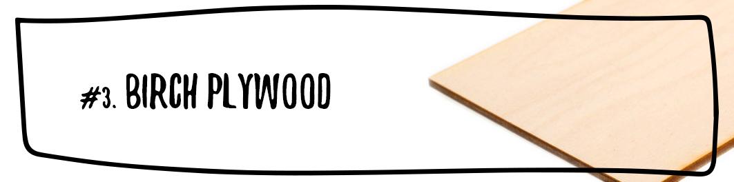 Birch Plywood - 3.2 mm