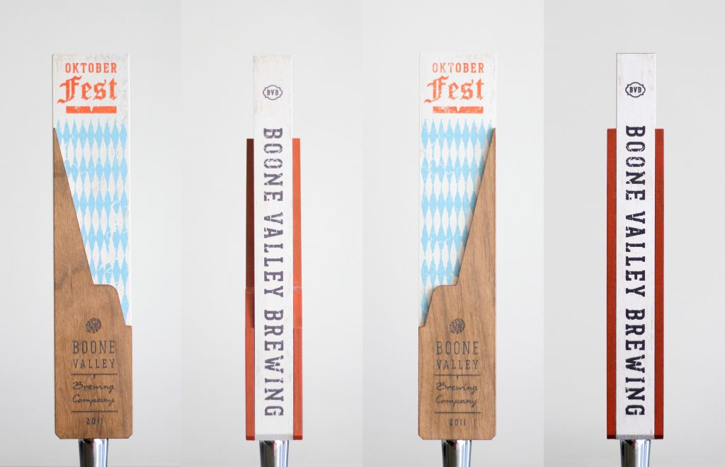 Boone Valley Brewing Oktoberfest Custom Beer Tap Handles