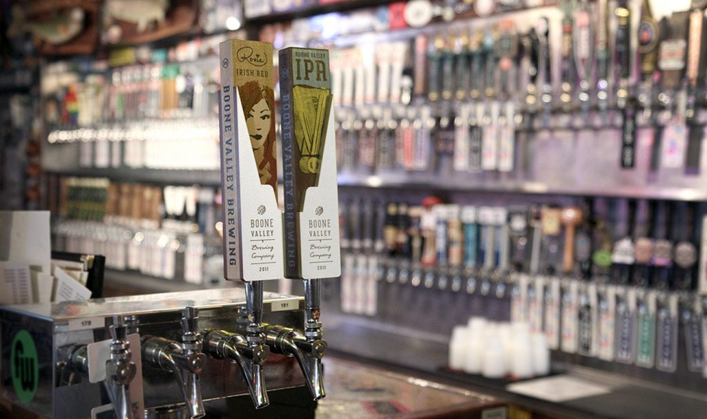 Eight Seven Central Custom Beer Tap Handles