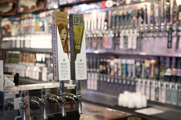 Eight Seven Central Beer Tap Handles