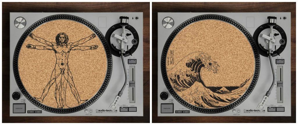 Laser Cut Cork Turntable Slipmat