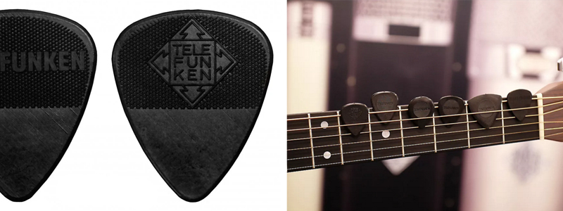 Delrin guitar picks from Reverb