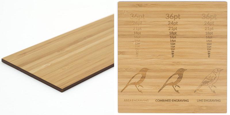 Premium Veneer Bamboo MDF Sheet