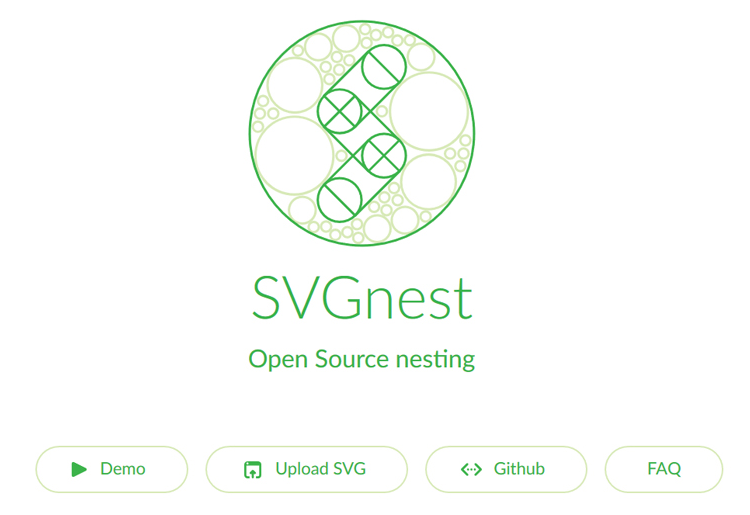 SVGnest Automated Nesting Software Tool