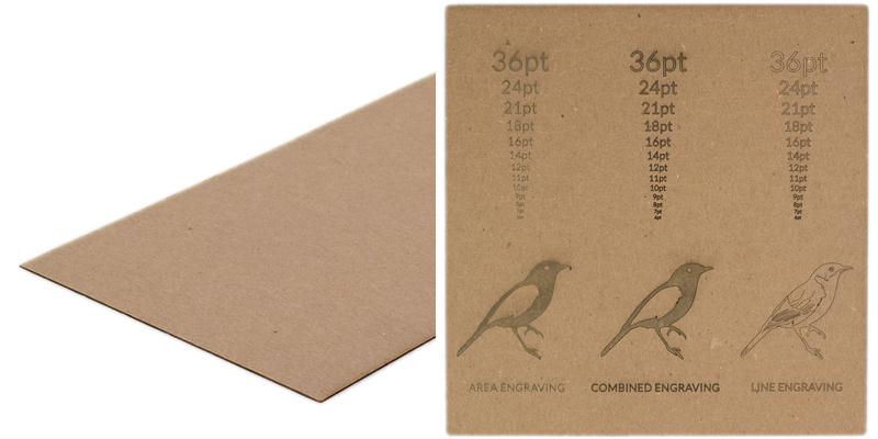 Natural Cardboard Sheet