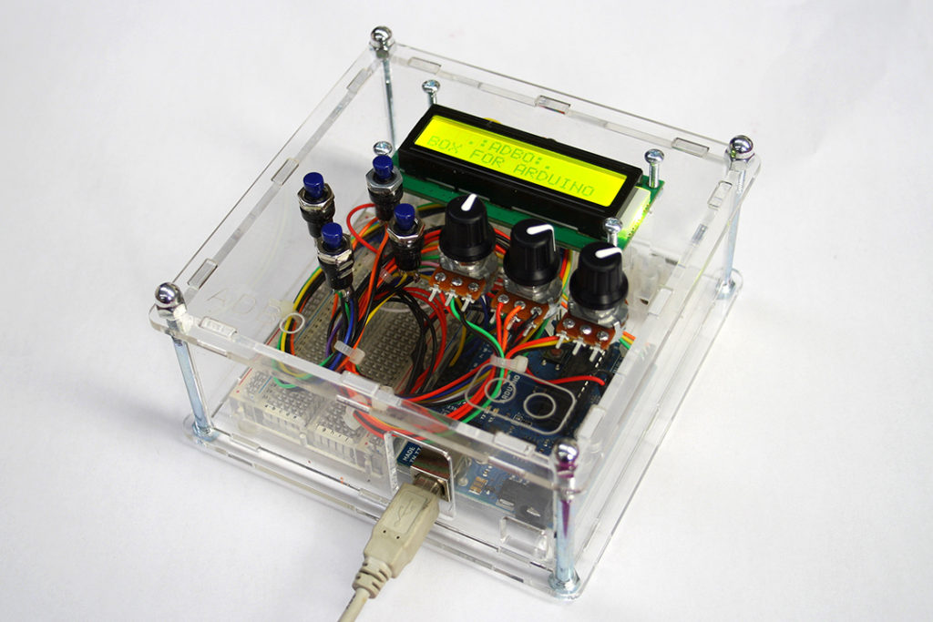 Arduino electronics project box