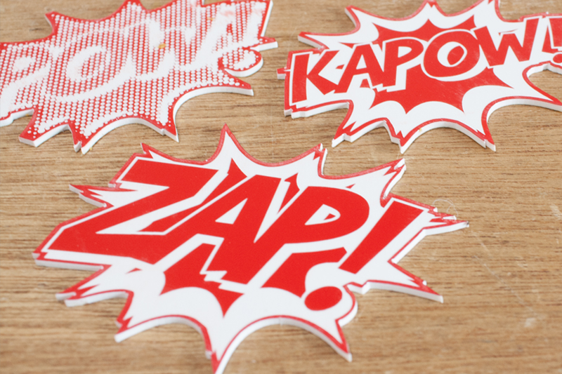 Laser Cut Red On White Acrylic