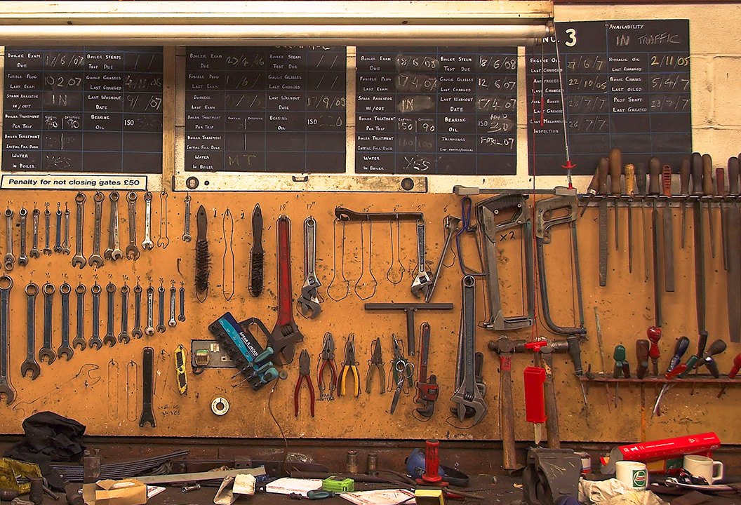 DIY workshop tools