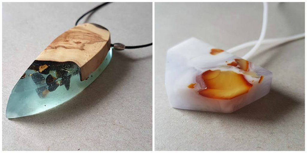 Jewelry making for beginners resin necklaces pretty amazing right there really is no limit to jewelry makingother than your imagination solutioingenieria