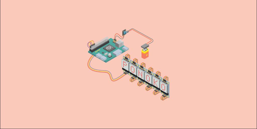 Raspberry Pi Illustration