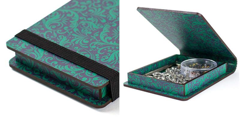 Baroque Printed MDF Green Case