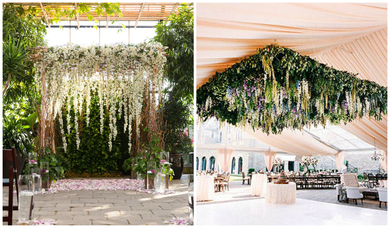 Wedding Decorations 10 Hanging Flowers