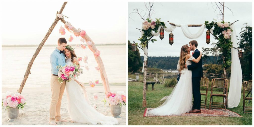 Wedding decorations the ultimate guide to styling a beautiful day wedding arch junglespirit