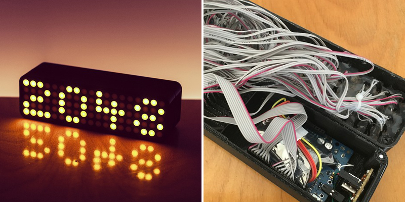 Make A Clock 17 - LED