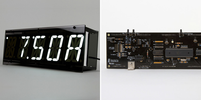 Make A Clock 6 - Adafruit LCD