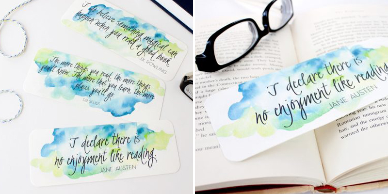 Make Bookmarks - Remodelaholic Printables