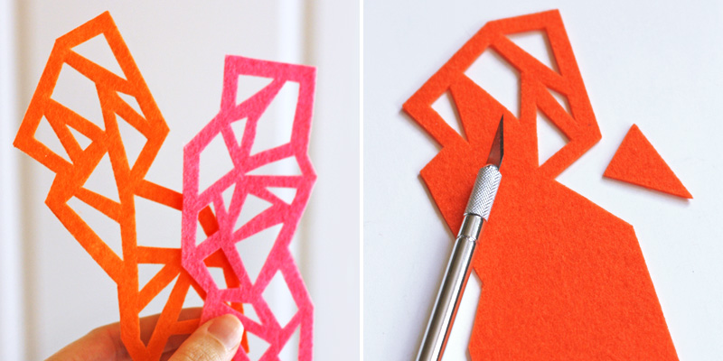 Make Bookmarks - Felt