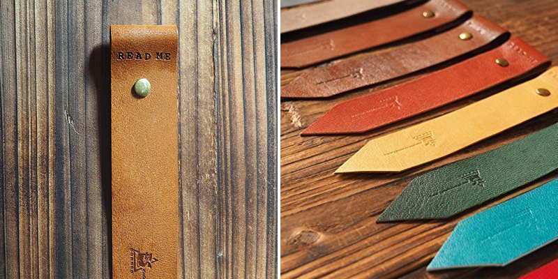 Make Bookmarks - Tooled Leather