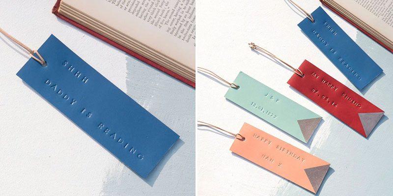 Make Bookmarks - Stamped Leather