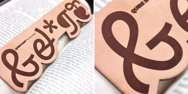 Make Bookmarks - Laser Cut Leather