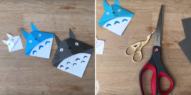 Make Bookmarks - Corner Totoro