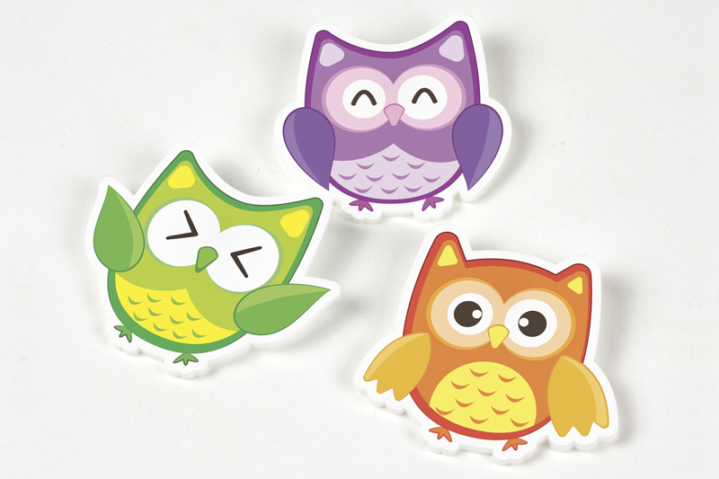 Custom Printed Materials 20 - Owls
