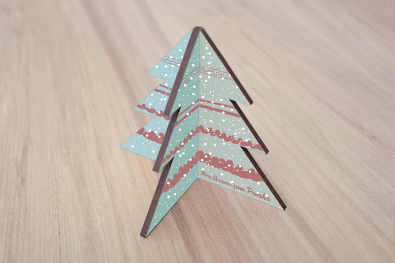 Custom Printed Materials 4 - Christmas Tree