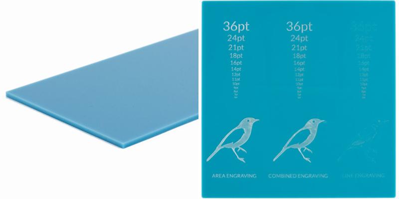 Pastel Acrylics Aqua Sheet
