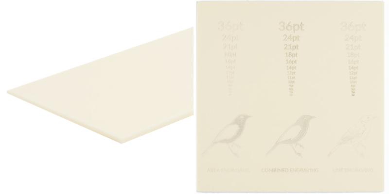 Pastel Acrylics Cream Sheet
