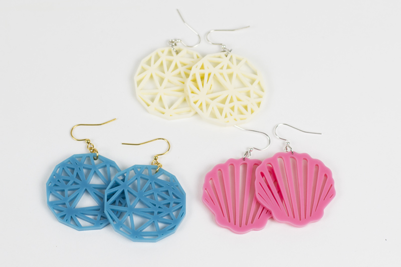 Pastel Acrylics Earrings