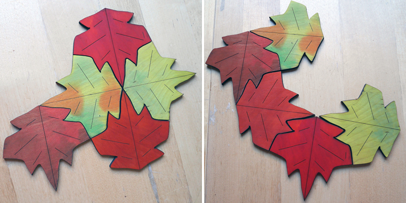 Tessellated Leaves 5