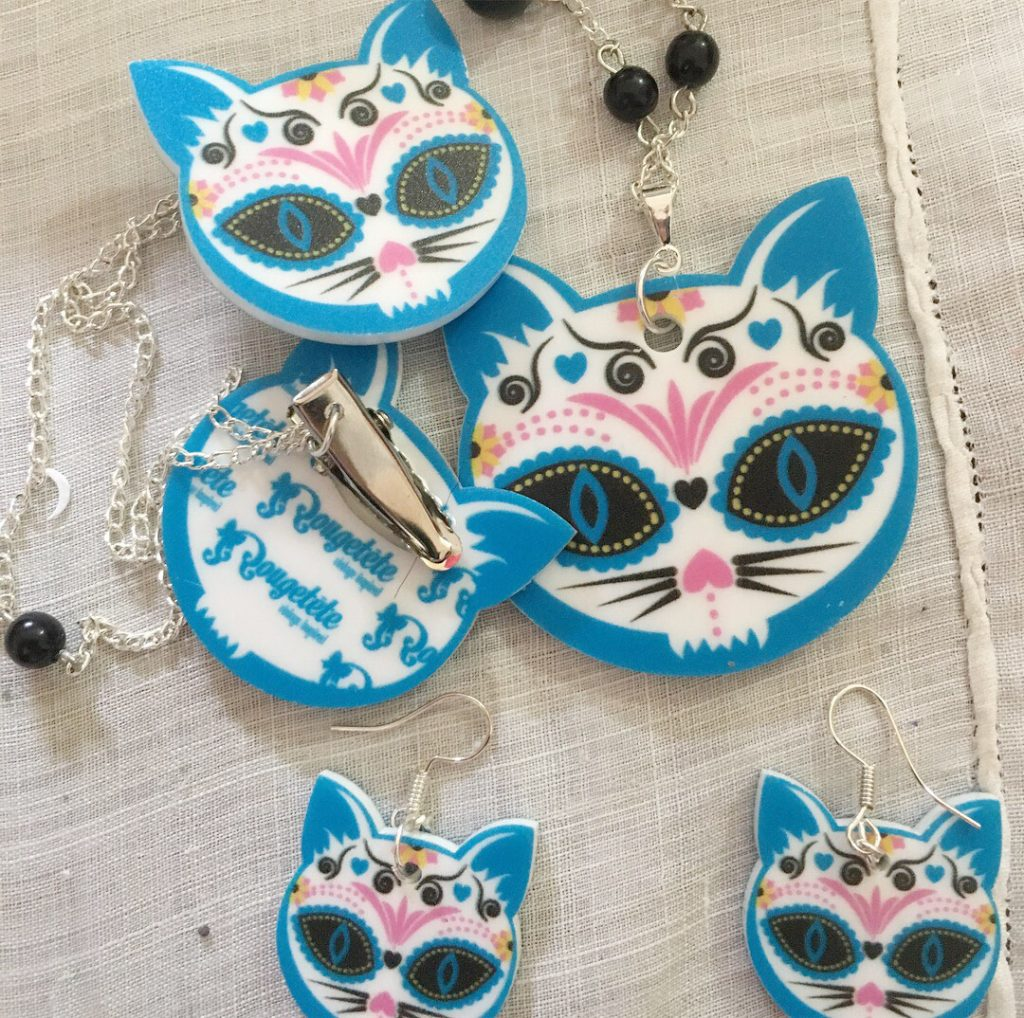 2017 Review 14 - Digital Printed Materials Cat Jewelry 1