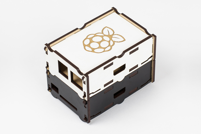 Coated MDF 4 - Rasberry Pi Cases