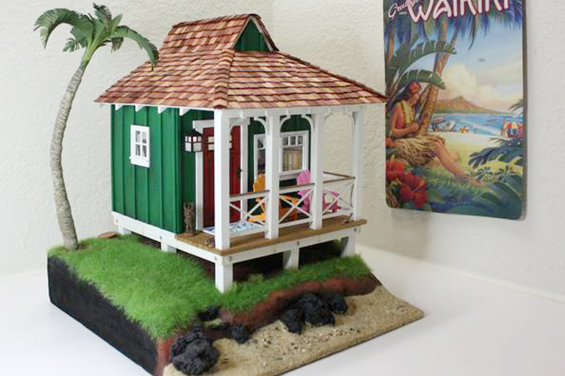Wishcraft Studio 1 - Wooden Dollhouse Exterior