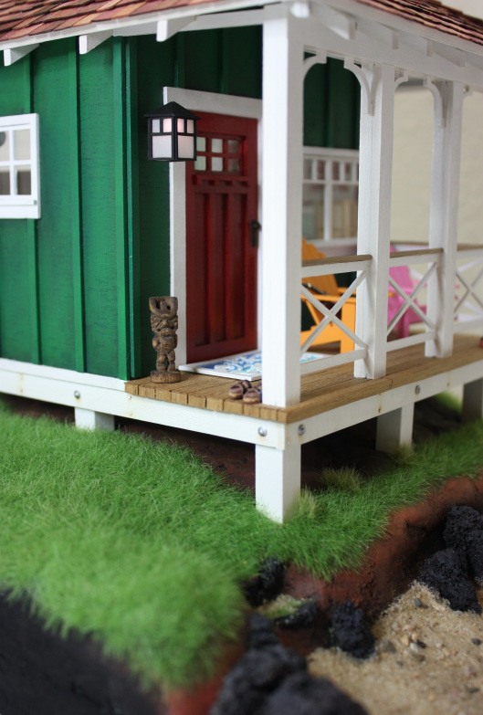 Wishcraft Studio 10 - Wooden Dollhouse Front Porch