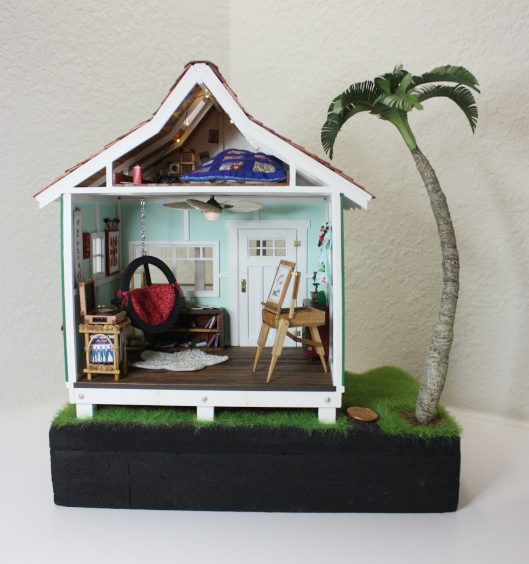 Wishcraft Studio 2 - Wooden Dollhouse Interior