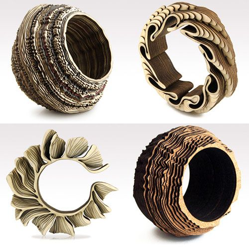 Laser Cut Products 06 - Anthony Roussel 3D Bracelets