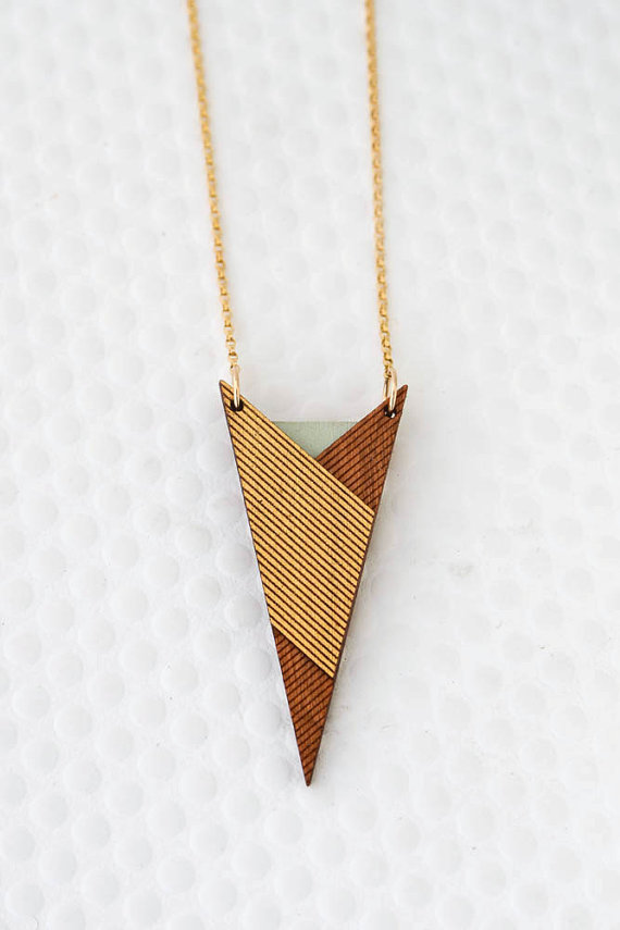 Laser Cut Products 08 - BirdOfVirtue Star Trek Necklace