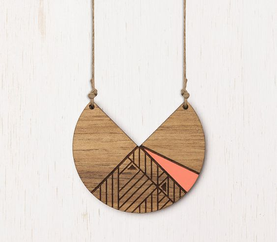 Laser Cut Products 09 - AdaAndCedar Lunar Necklace