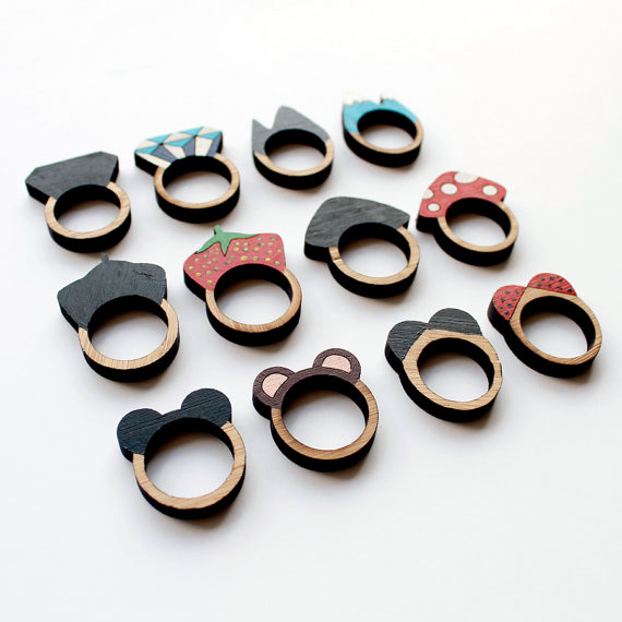 Laser Cut Products 11 - WhimsyMilieu Rings