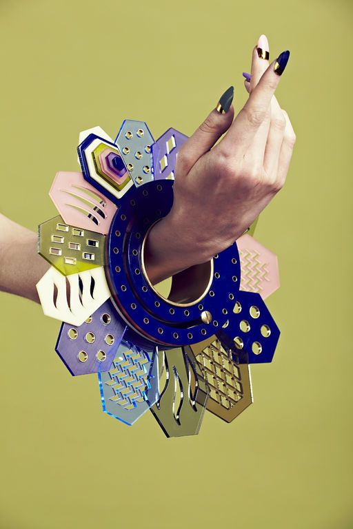 Laser Cut Products 15 - Alexandra Druzhinin Shape Changing Bracelet