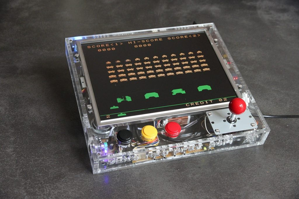 Laser Cut Products 20 - RetroPie Arcade Game Controller