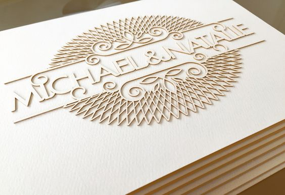 Laser Cut Products 28 - Qards Engraved Envelopes