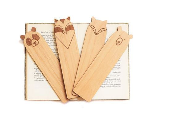 Laser Cut Products 36 Lucca Workshop Zoo Animals Bookmarks